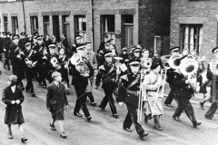 Ireland Colliery Band, Staveley 1945